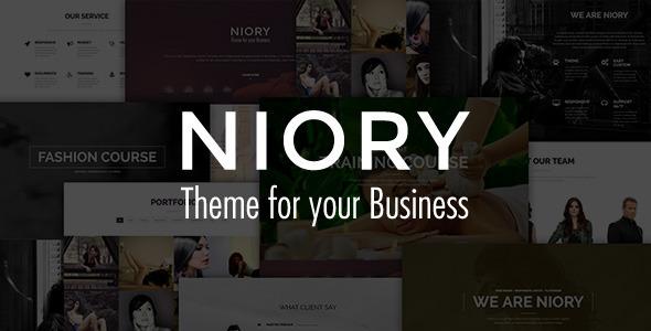 Niory - One Page Responsive Joomla Template