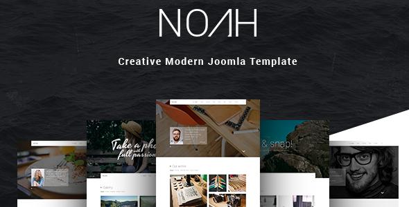 NOAH | Creative Modern Joomla Template