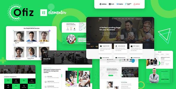 Ofiz | Office / Agency WordPress Theme