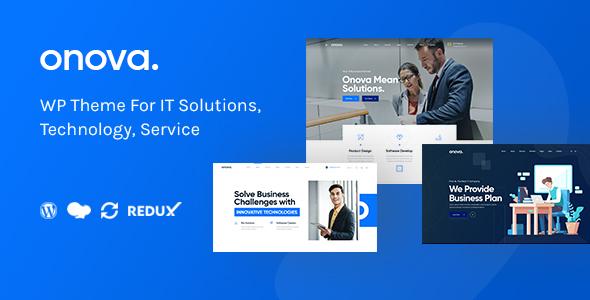 Onova - IT Solutions and Services Company WordPress Theme
