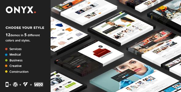 Onyx - Multi-Concept Business Theme