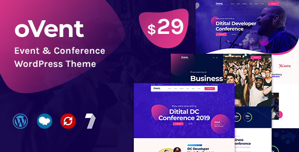Ovent - Event Conference WordPress Theme
