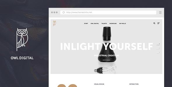 Owl Digital - Creative Agency WordPress Theme