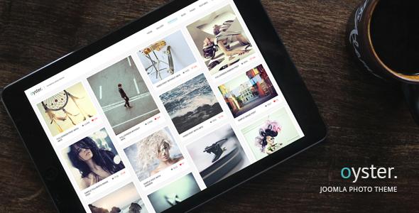 Oyster – Creative Photography Joomla Template