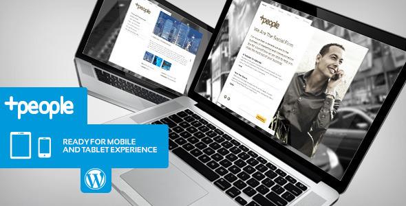 +People Premium Business WordPress Theme