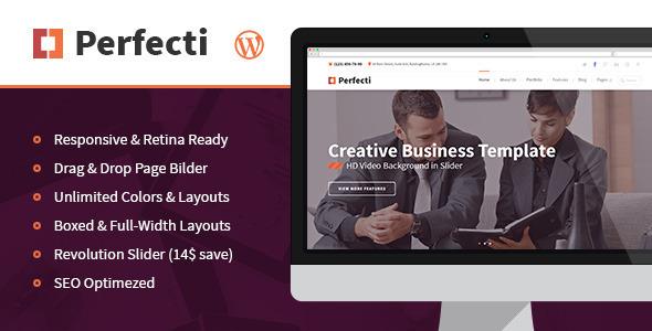 Perfecti - Business MultiPurpose Theme