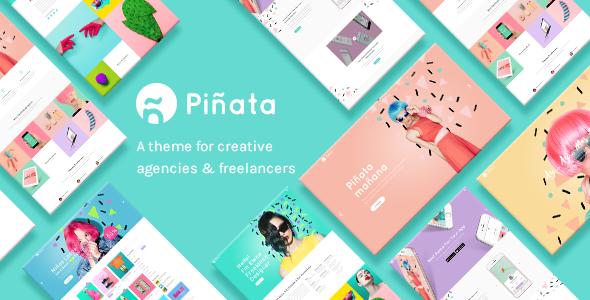 Piñata - Creative Agency and Freelancer Theme