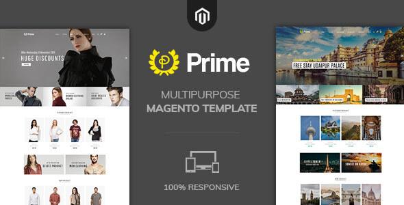 Prime Fashion Multipurpose  Magento2 Theme