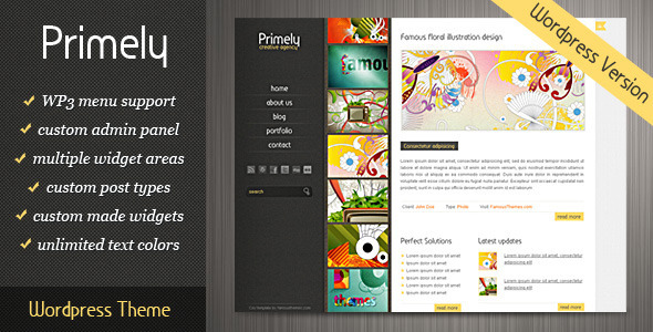 Primely Wordpress Theme