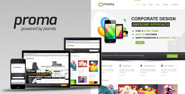 Proma - Joomla Business Template