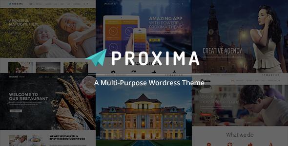Proxima Responsive Business Multi-Purpose Theme