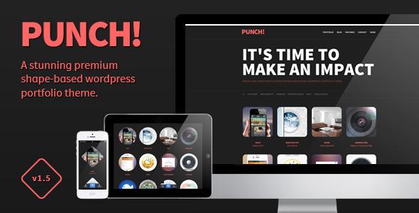 Punch - Responsive Portfolio WordPress Theme