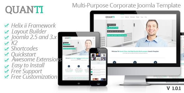 Quanti Multi-Purpose Joomla! Template
