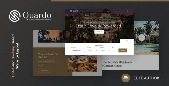 Quardo | Deluxe Hotels WordPress Theme