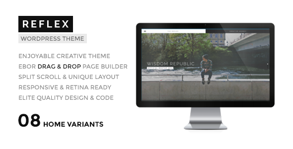 REFLEX - Creatives & Agency WordPress Theme