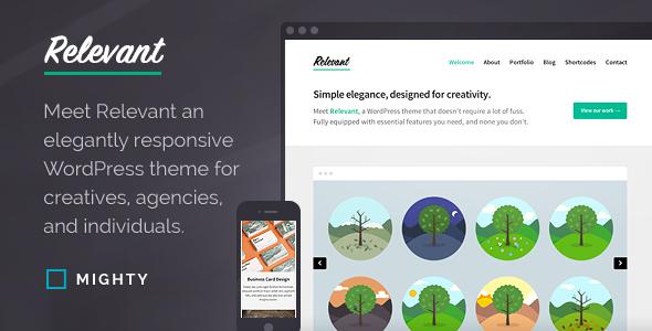 Relevant WordPress Theme