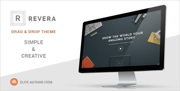 Revera - Simple and Creative Portfolio WP Theme