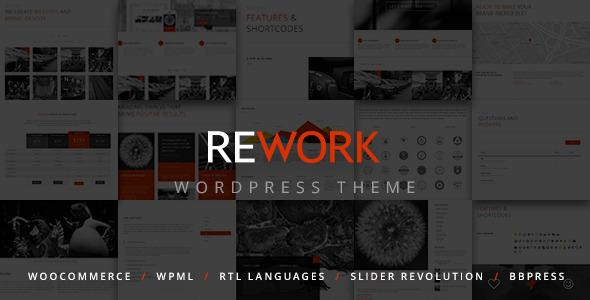 Rework Modern WordPress Theme