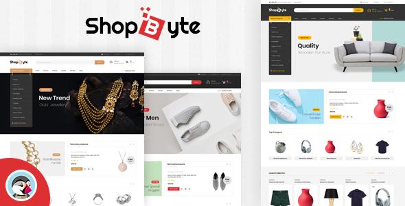 ShopByte - Multipurpose Prestashop 1.7 Responsive Theme