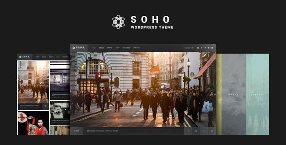 SOHO | Photography WordPress Theme