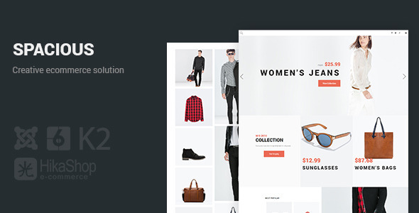 Spacious - Creative eCommerce solution.