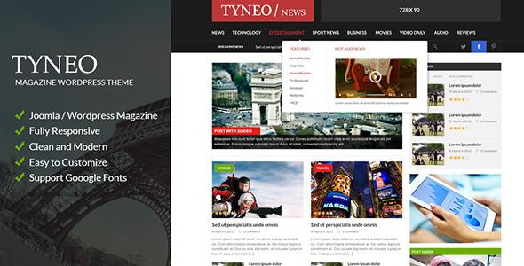 ST Tyneo - news, magazine joomla