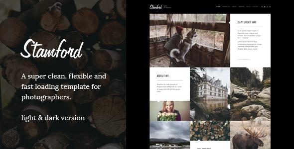 Stamford – Photography Portfolio WordPress Theme