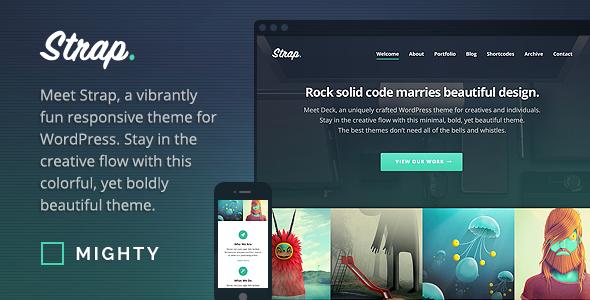 Strap - WordPress Theme