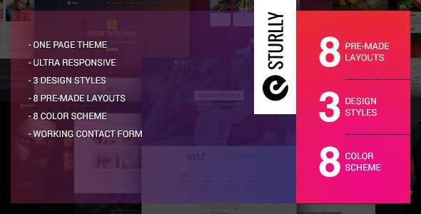 Sturlly - Responsive MultiPurpose WordPress Theme