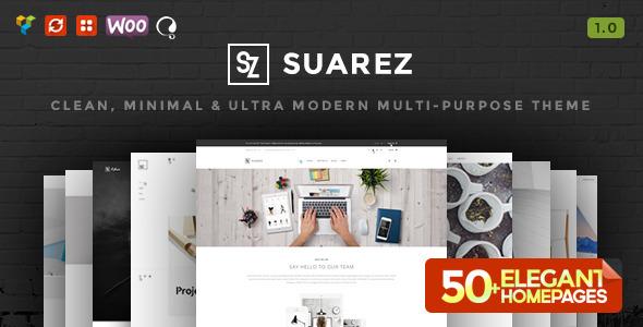 Suarez - Clean, Minimal & Modern Multi-Purpose WordPress Theme