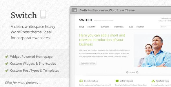 Switch - Responsive WordPress Theme