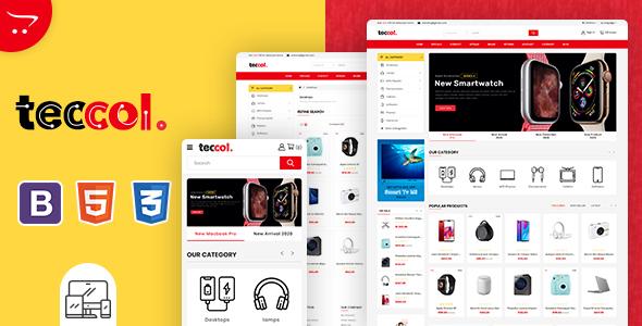Teccol - OpenCart Multi-Purpose Supermarket Theme