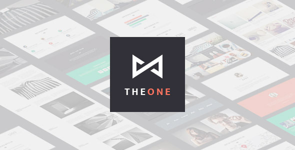 THEONE -  Parallax Onepage WordPress Theme