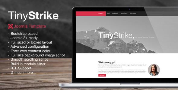 TinyStrike - Multipurpose Joomla Template