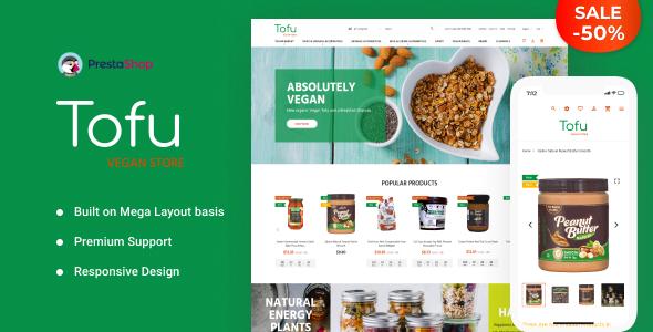 Tofu - Vegan Store PrestaShop Theme