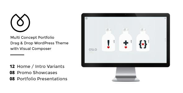 UBER - Minimal Multi-Concept WordPress Theme