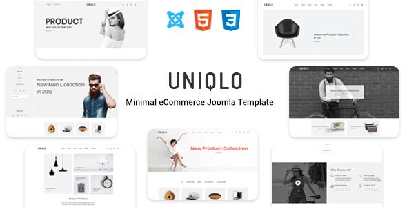Uniqlo - Responsive Joomla Template