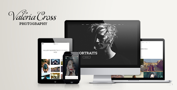 Valeria - Clean Photography & Portfolio WordPress Theme