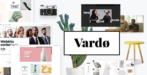 Vardø - Creative Design Portfolio Theme