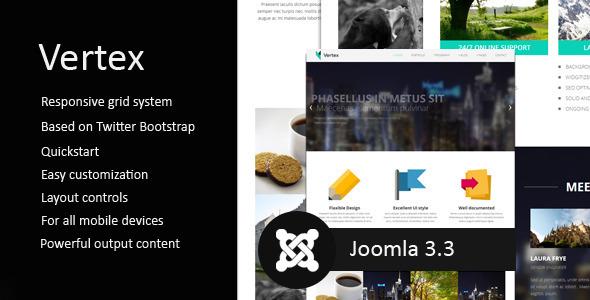Vertex - Premium Responsive Joomla Theme