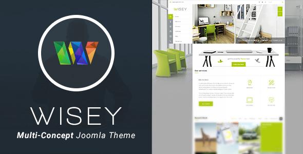 Wisey - High Performance Joomla Template