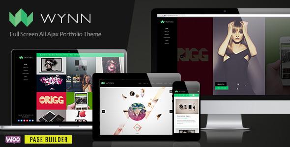 Wynn - Fullscreen Ajax Portfolio / Photography Theme