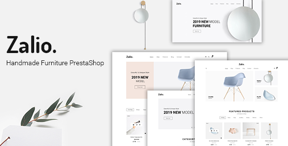 Zalio - Handmade Furniture PrestaShop 1.7 Theme