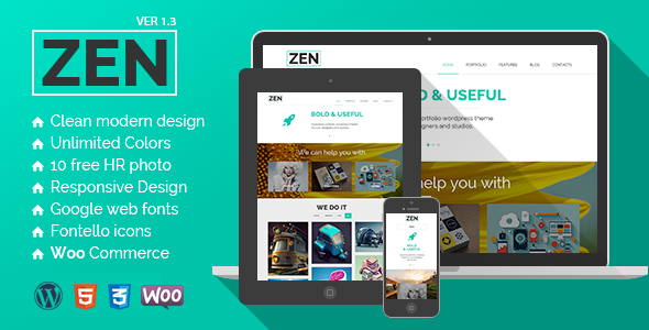 ZEN | Creative Multipurpose WordPress Theme