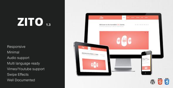 Zito - Minimal & Responsive /  Wordpress