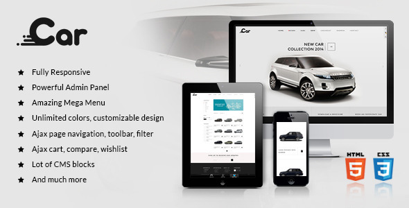 ZT Car - Responsive Joomla Virtuemart Template